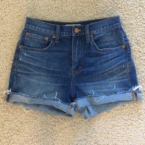 Madewell high-rise shorts
